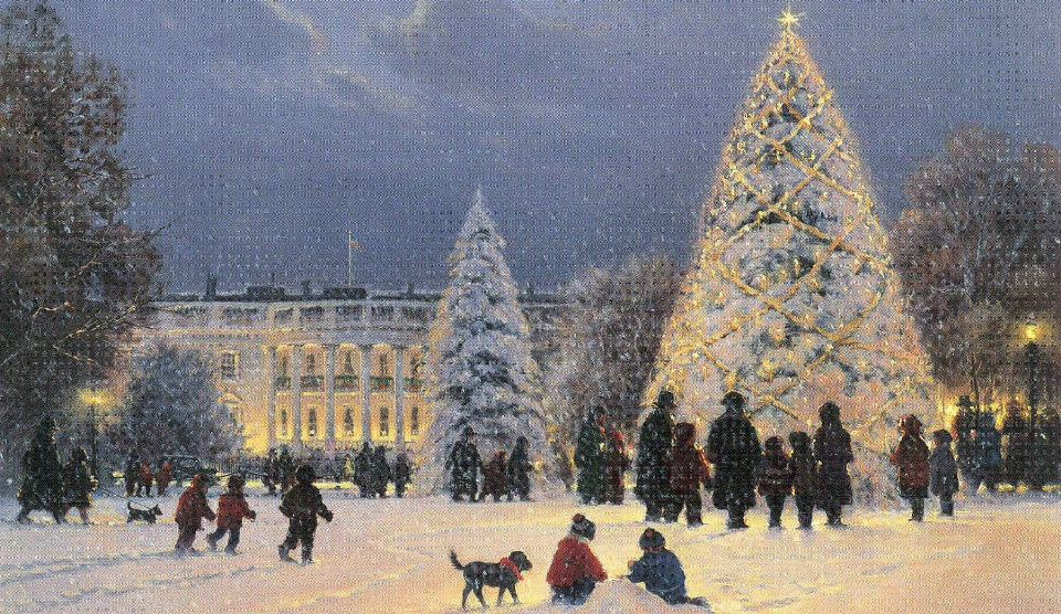 National-Christmas-Lighting-Painting
